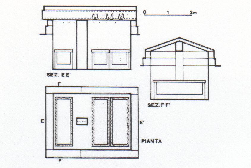 Piante archeologia storia architettura a taranto for Planimetria stanza